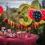 Jak zorganizować przyjęcie urodzinowe i nie zwariować? Nasze przyjęcie Mickey Mouse!